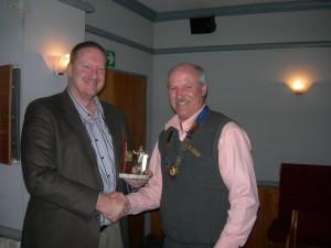 Mark - Winning Best Speaker Award