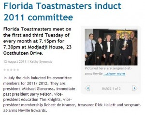 Florida-Toastmasters-induct-2011-committee
