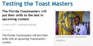 Testing-the-Toast-Masters